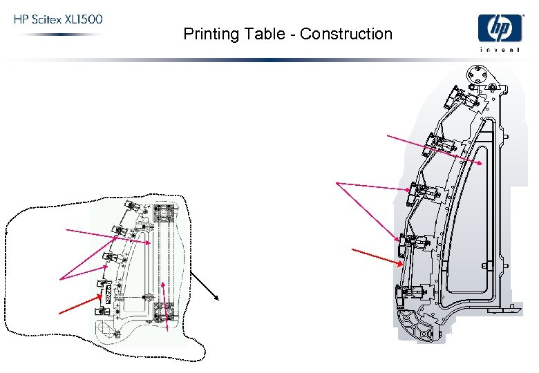 Printing Table - Construction