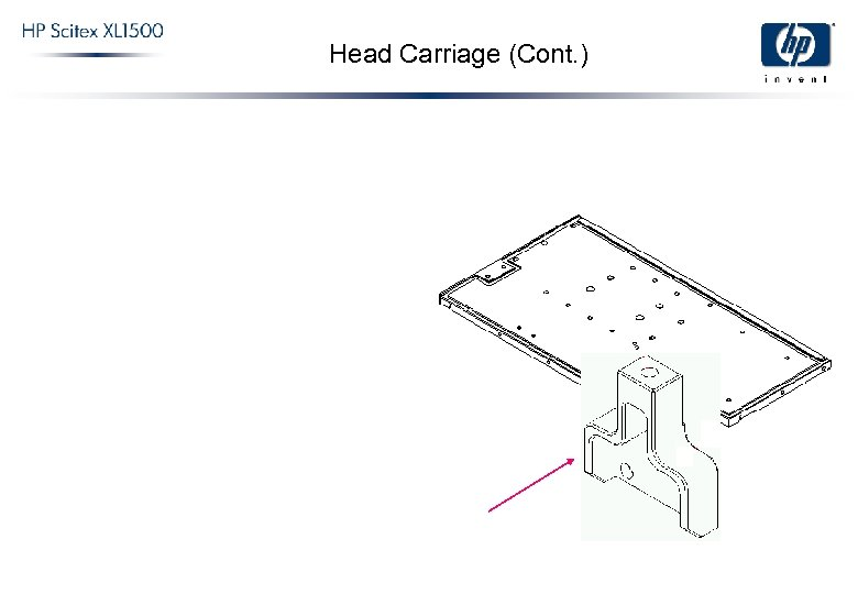 Head Carriage (Cont. )