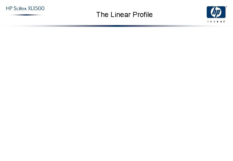 The Linear Profile