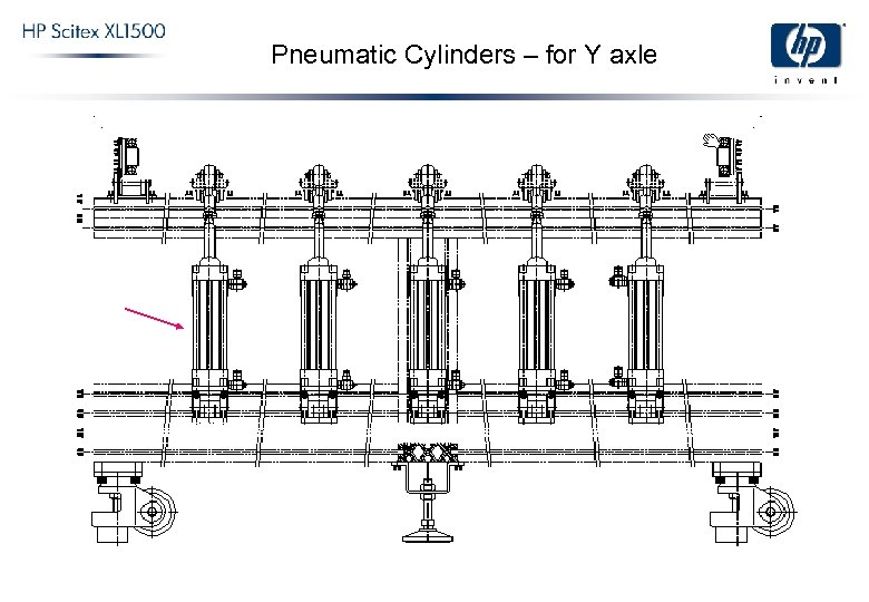 Pneumatic Cylinders – for Y axle