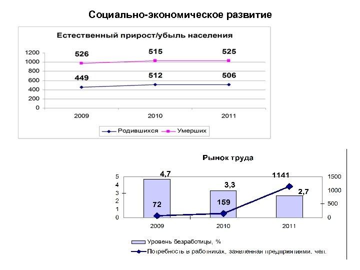 Социально-экономическое развитие
