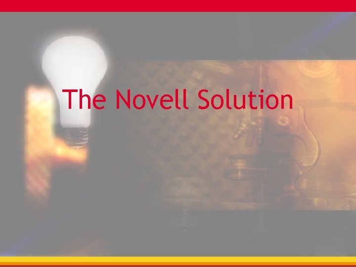 The Novell Solution