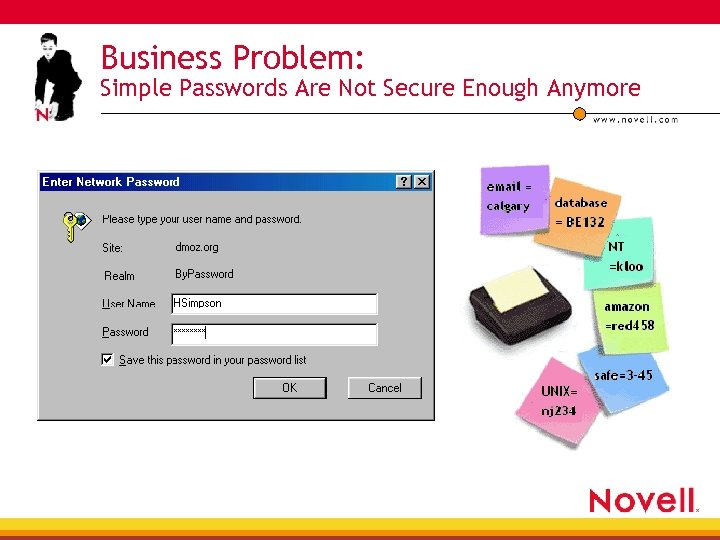 Business Problem: Simple Passwords Are Not Secure Enough Anymore