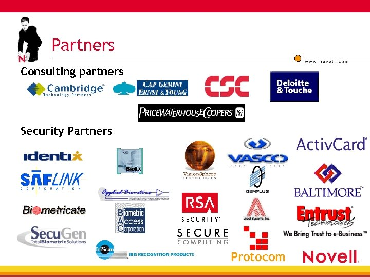 Partners Consulting partners Security Partners Protocom