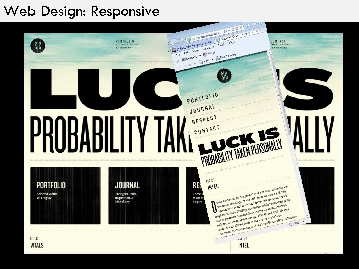 Web Design: Responsive