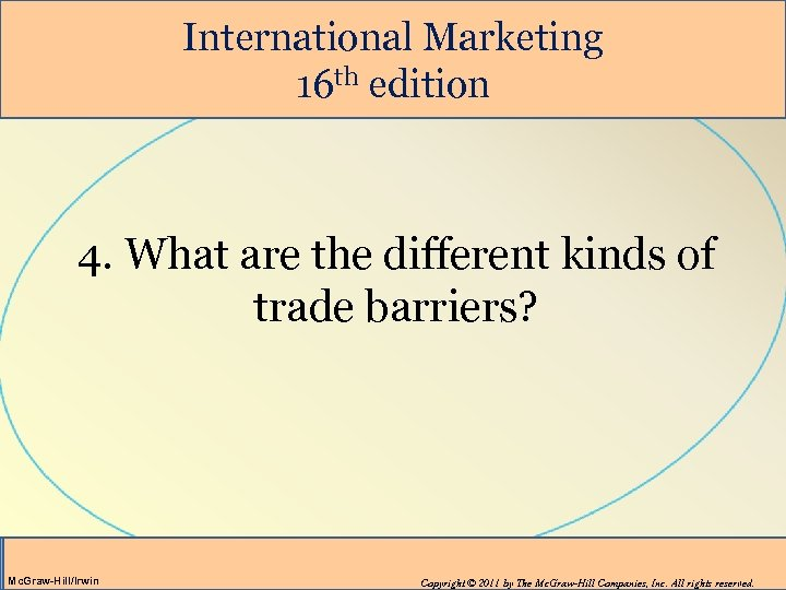 different types of trade barriers