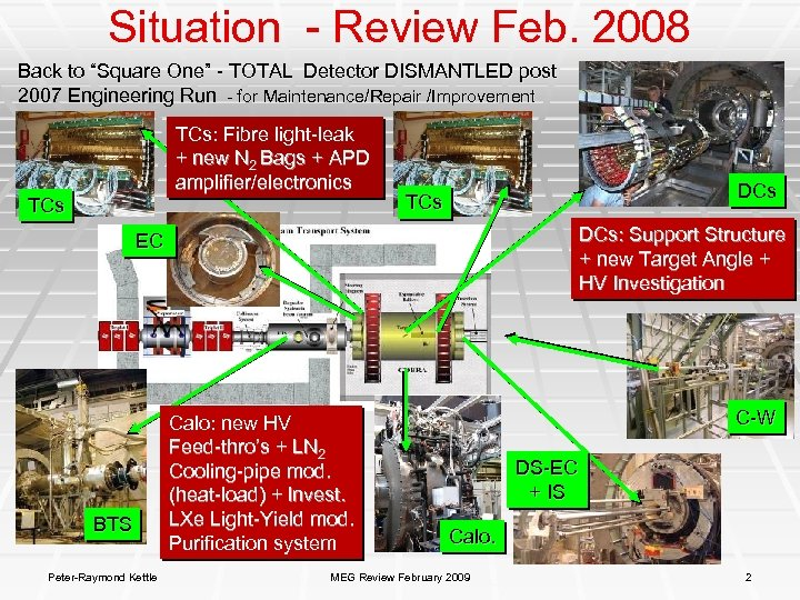 """Situation - Review Feb. 2008 Back to """"Square One"""" - TOTAL Detector DISMANTLED post"""