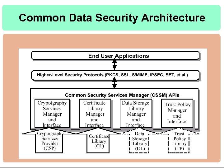 Common Data Security Architecture