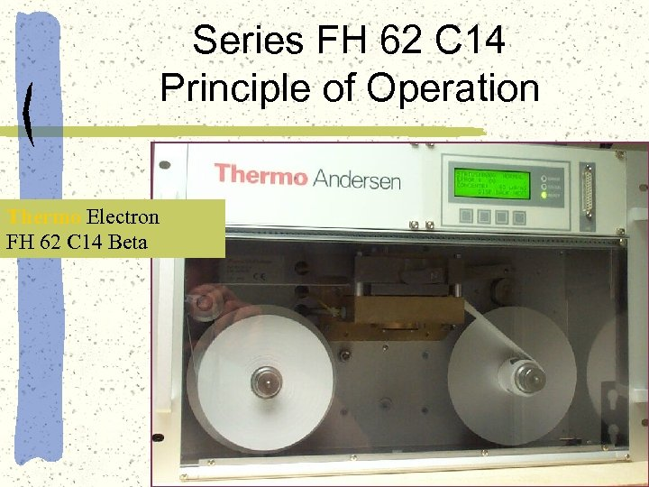 Series FH 62 C 14 Principle of Operation Thermo Electron FH 62 C 14