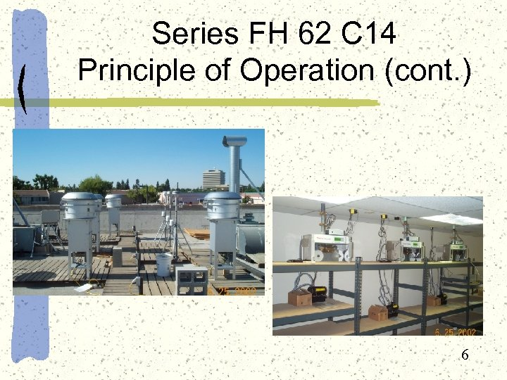 Series FH 62 C 14 Principle of Operation (cont. ) 6