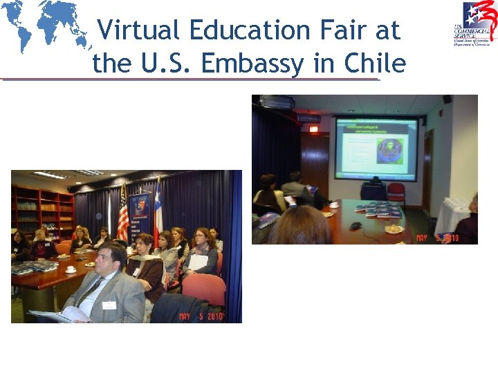 Virtual Education Fair at the U. S. Embassy in Chile
