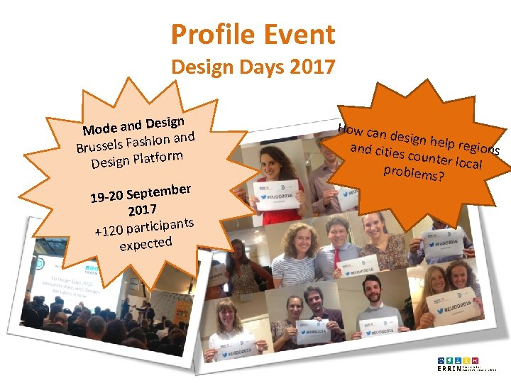 Profile Event Design Days 2017 esign Mode and D and sels Fashion Brus orm