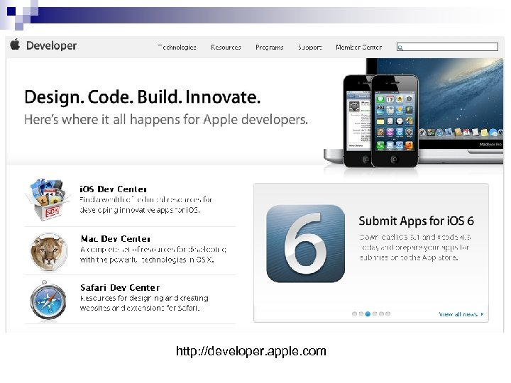 http: //developer. apple. com