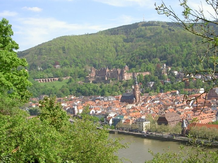 With your family in Heidelberg