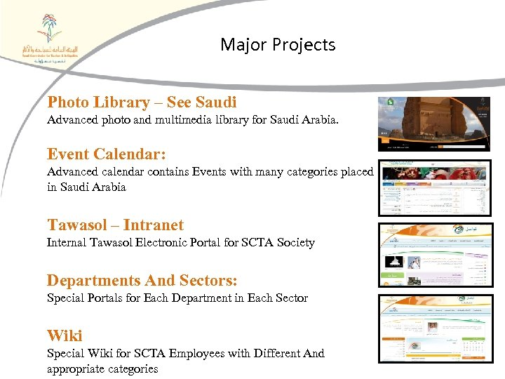 Major Projects Photo Library – See Saudi Advanced photo and multimedia library for Saudi