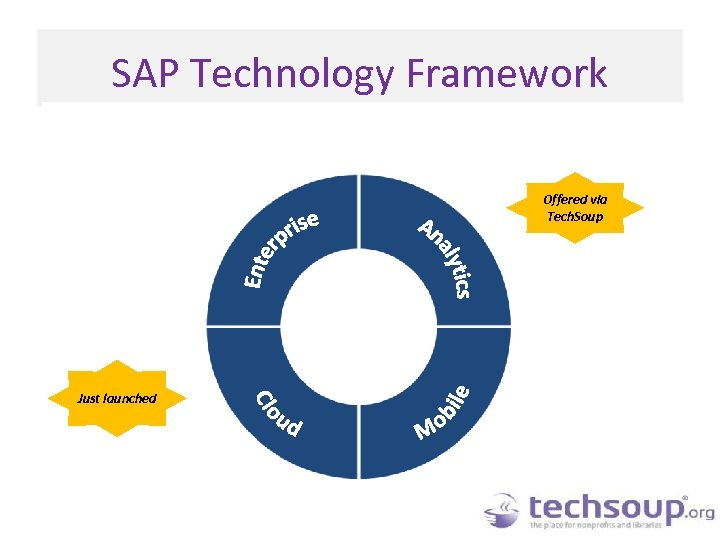 SAP Technology Framework Offered via Tech. Soup Just launched