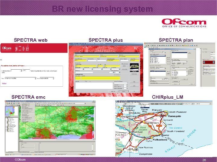 BR new licensing system SPECTRA web SPECTRA emc SPECTRA plus SPECTRA plan CHIRplus_LM 26