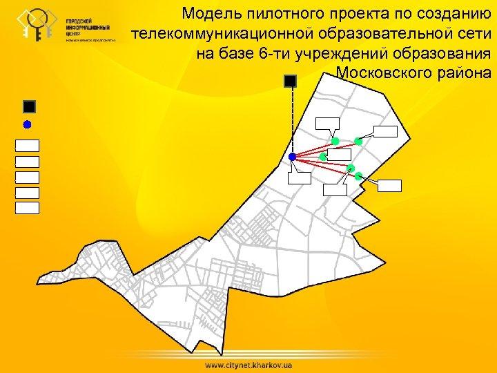 Модель пилотного проекта по созданию телекоммуникационной образовательной сети на базе 6 -ти учреждений образования