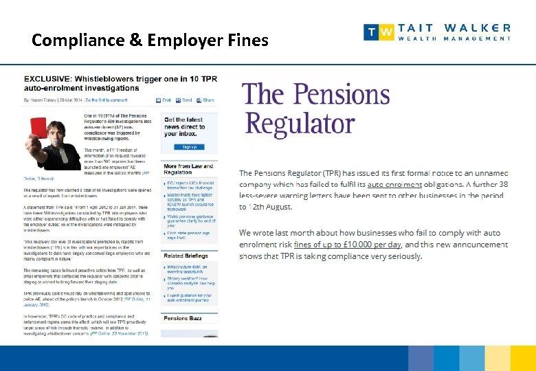 Compliance & Employer Fines