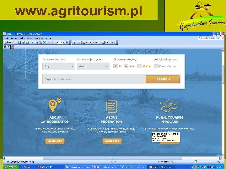 www. agritourism. pl www. agroturystyka. pl