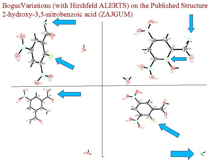 Bogus. Variations (with Hirshfeld ALERTS) on the Published Structure 2 -hydroxy-3, 5 -nitrobenzoic acid