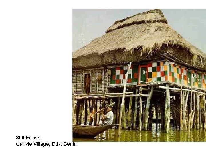 Stilt House, Ganvie Village, D. R. Benin