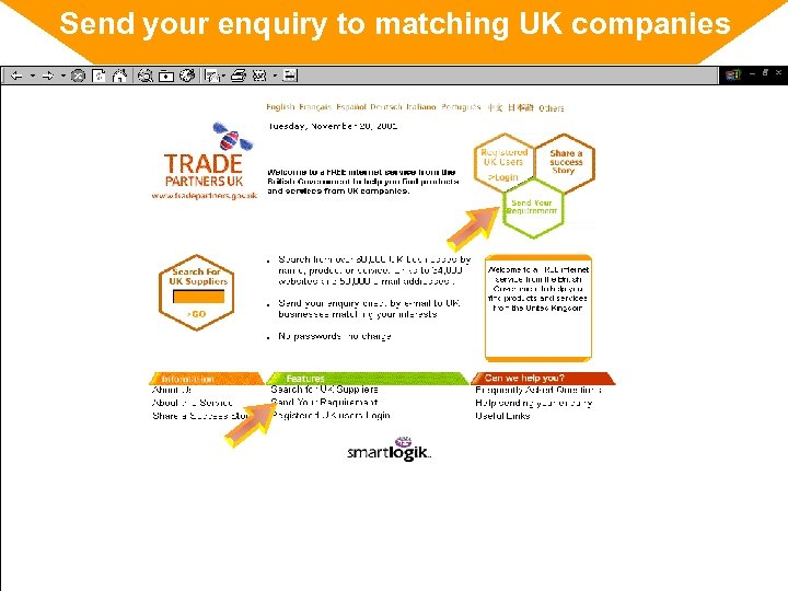 Send your enquiry to matching UK companies