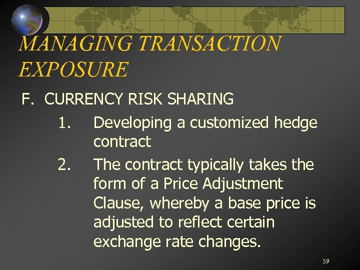 evaluating transaction exposures and hedging solutions Msr hedging & brokerage strategies include setup, assistance with trade decisions, and in-depth risk/return analysis assistance identifying and evaluating sub-servicing options and strategy explore why hedging msrs is practiced and what significant risks and costs can be accrued by not.
