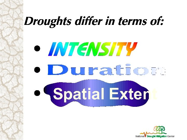 Spatial Extent