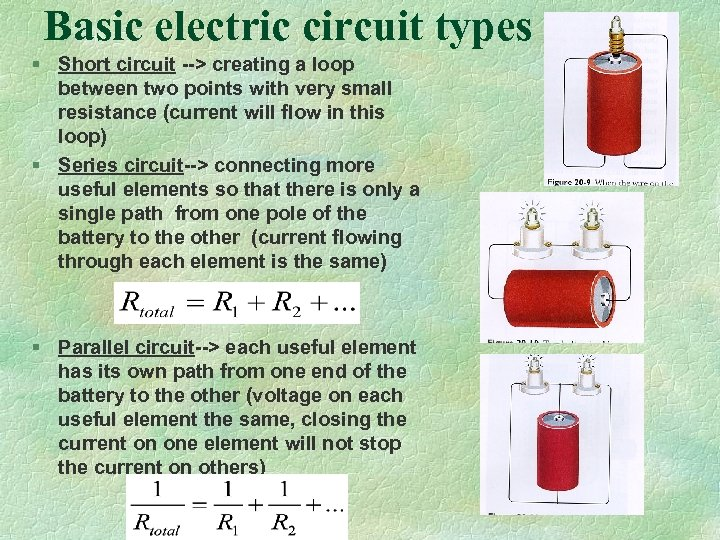 Basic electric circuit types § Short circuit --> creating a loop between two points