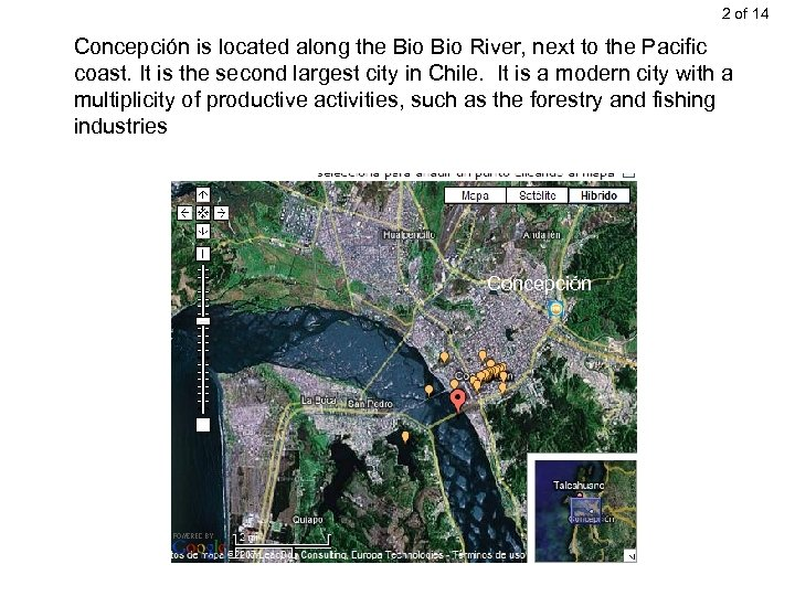 2 of 14 Concepción is located along the Bio River, next to the Pacific