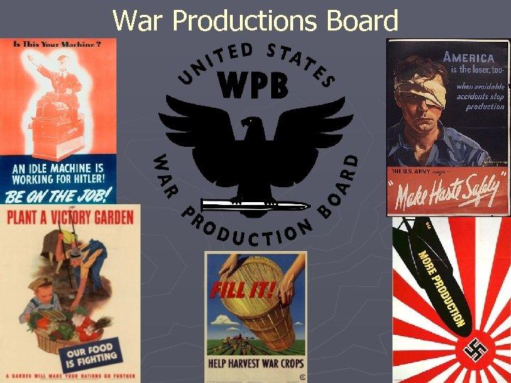 War Productions Board