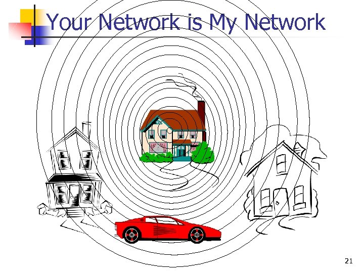 Your Network is My Network 21