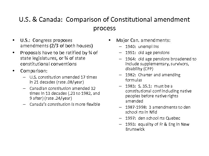 Canadian Constitutional Administrative Law January 16 2008