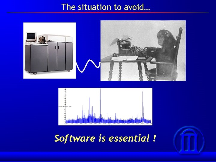 The situation to avoid… Software is essential !