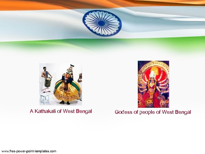 A Kathakali of West Bengal Godess of people of West Bengal