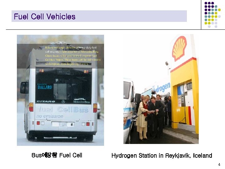 Fuel Cell Vehicles Bus에장착 Fuel Cell 된 Hydrogen Station in Reykjavik, Iceland 4