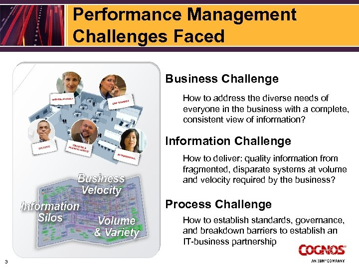 Performance Management Challenges Faced Business Challenge How to address the diverse needs of everyone
