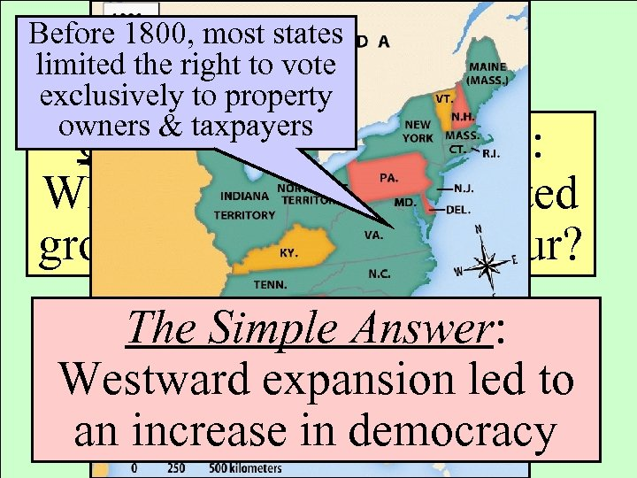 the expansion of the right to vote throughout history 2 But, by modern standards, the right to vote in colonial america was narrow, and there were fewer opportunities for its exercise before the revolution, colonists generally did not vote for their governors—the chief executives of what they thought of as their countries.