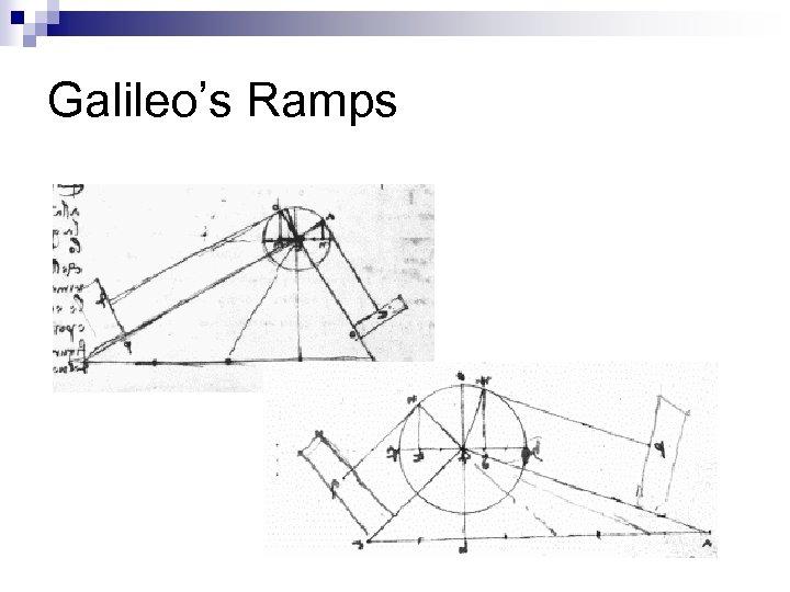 Galileo's Ramps