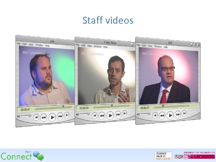 Staff videos