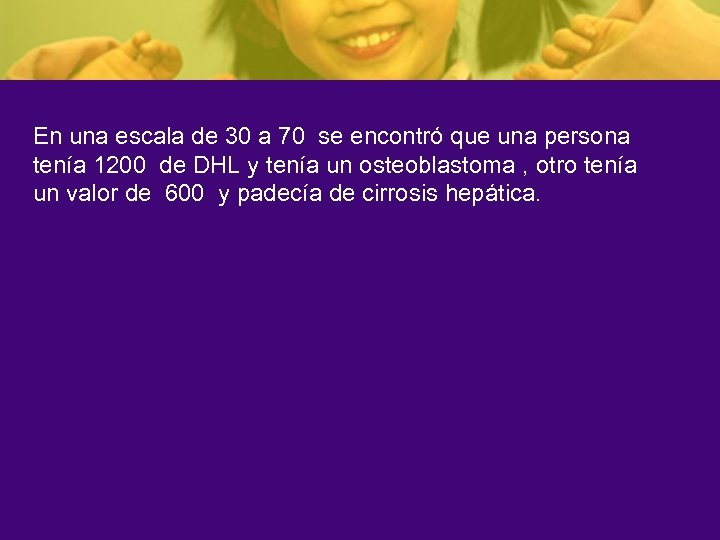 En una escala de 30 a 70 se encontró que una persona tenía 1200