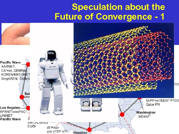 Speculation about the Future of Convergence - 1 Technology Convergence r Miniaturization r Nanotechnology