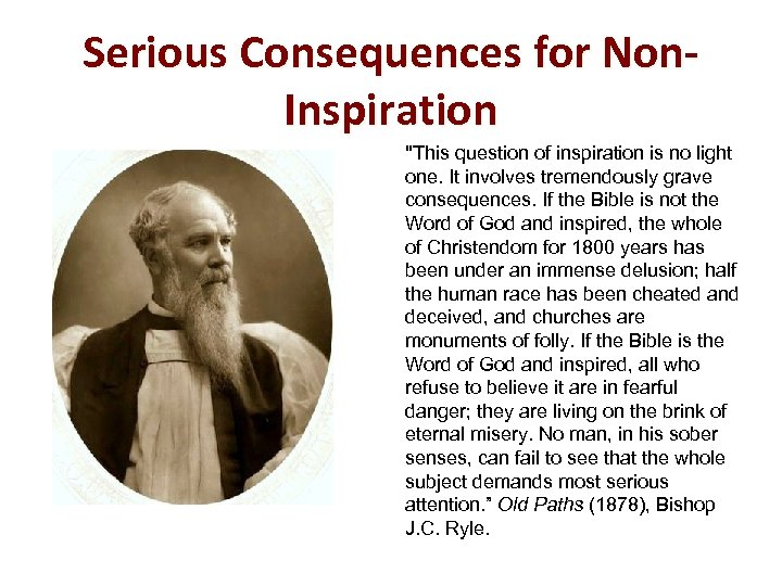 Serious Consequences for Non. Inspiration