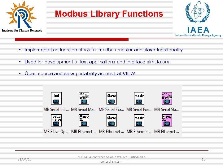 Modbus Library