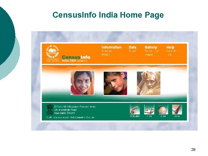 Census. Info India Home Page 28