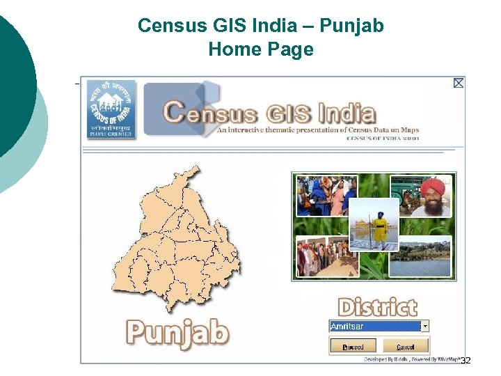 Census GIS India – Punjab Home Page 32