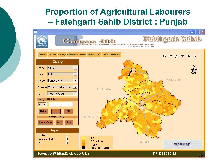 Proportion of Agricultural Labourers – Fatehgarh Sahib District : Punjab 36