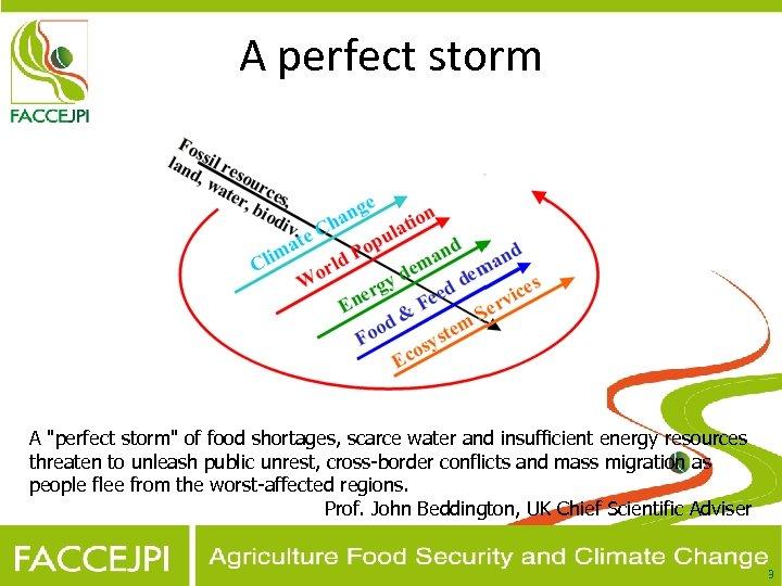 A perfect storm A
