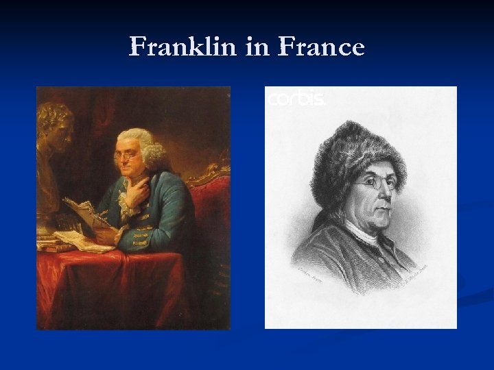 Franklin in France